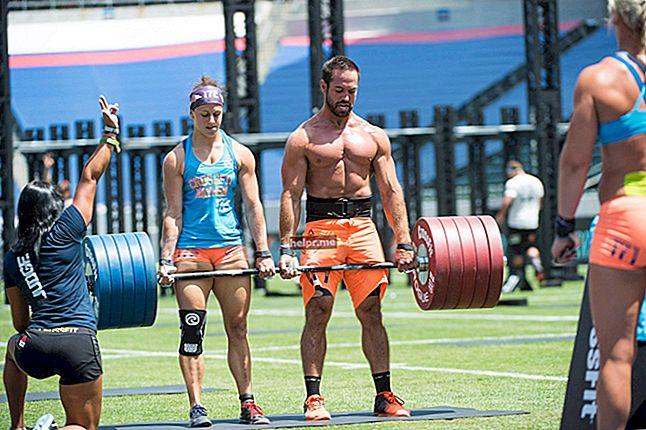 Lauren Fisher (sportiv CrossFit) Plan de antrenament și dietă