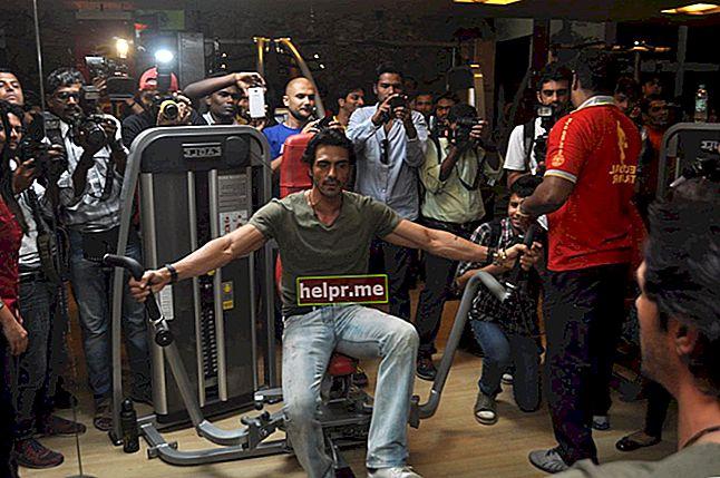 Sfaturi de rutină și dietă Arjun Rampal