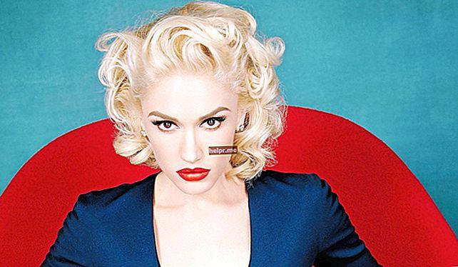 Rutinski plan i režim prehrane Gwen Stefani