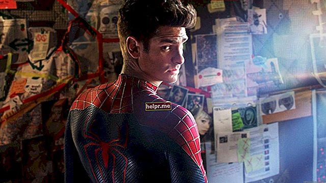 Andrew Garfield Planul de antrenament și dietă pentru Spider-Man 2014