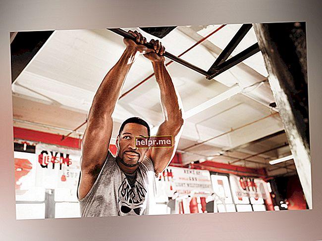 Michael Strahan Secretele de antrenament și dietă