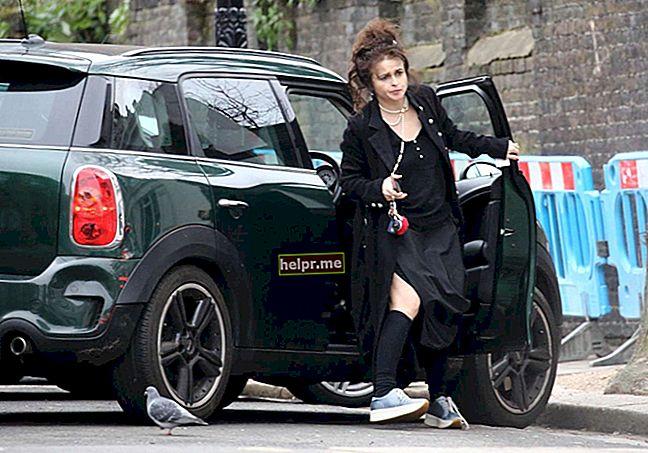 Helena Bonham Carter Înălțime, greutate, vârstă, statistici corporale