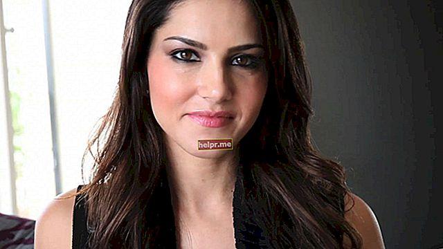 Sunny Leone Altura, peso, edad, estadísticas corporales