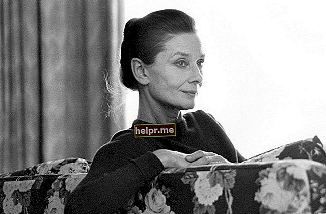 Audrey Hepburn Înălțime, greutate, vârstă, statistici corporale