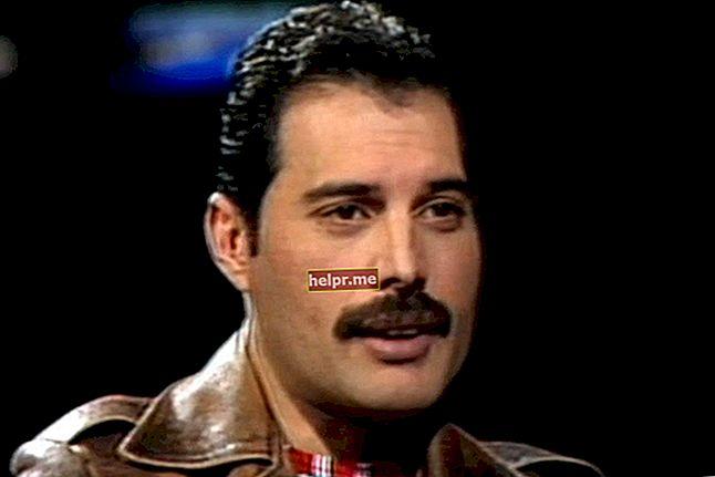 Freddie Mercury magasság, súly, életkor, teststatisztika