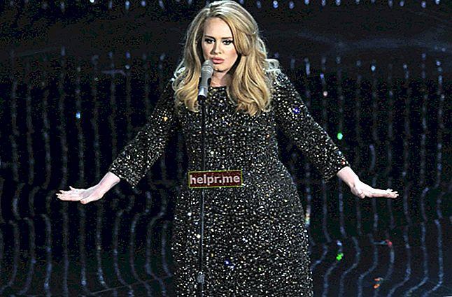 Adele magasság, súly, életkor, teststatisztika