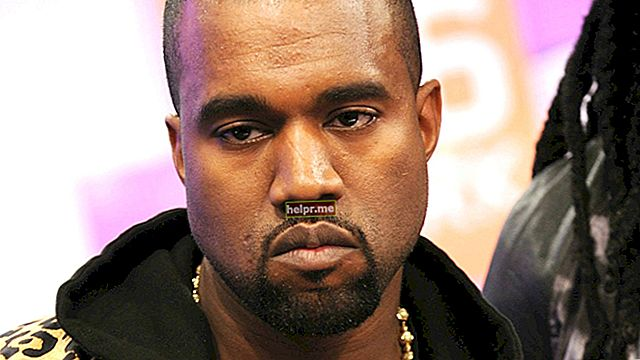 Kanye West Magasság, súly, életkor, teststatisztika