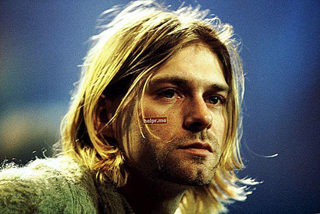 Kurt Cobain Înălțime, greutate, vârstă, statistici corporale