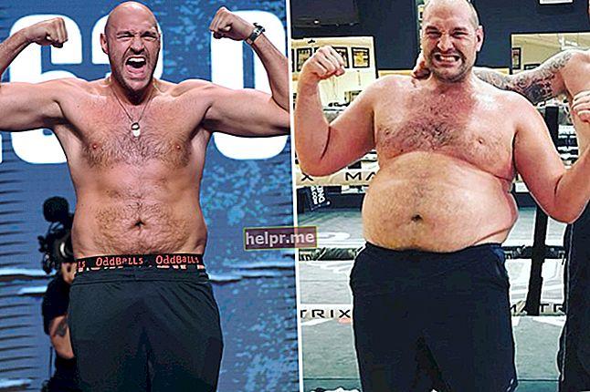 Tyson Fury Altura, peso, edad, estadísticas corporales