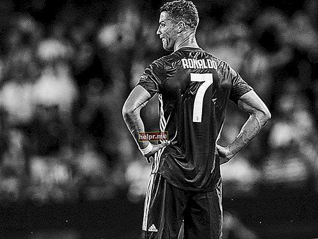 Cristiano Ronaldo Altura, peso, edad, estadísticas corporales