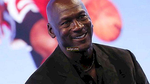 Michael Jordan Altura, peso, edad, estadísticas corporales