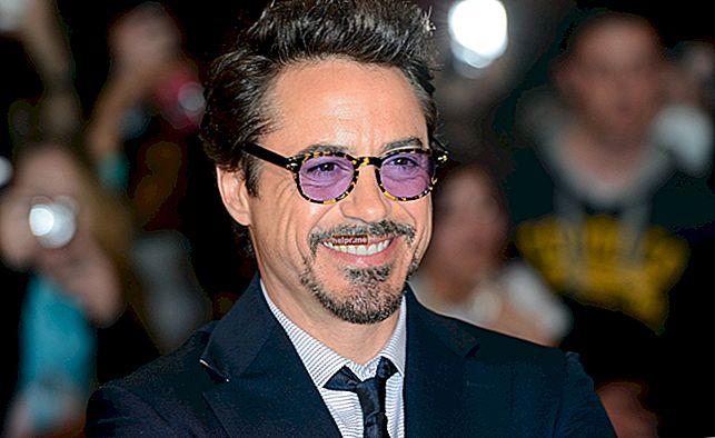 Robert Downey Jr. Înălțime, greutate, vârstă, statistici corporale