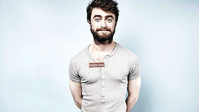 Daniel Radcliffe Înălțime, greutate, vârstă, statistici corporale