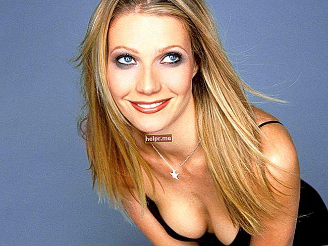 Gwyneth Paltrow Înălțime, greutate, vârstă, statistici corporale