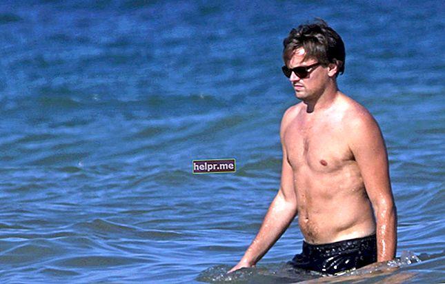 Leonardo DiCaprio Înălțime, greutate, vârstă, statistici corporale