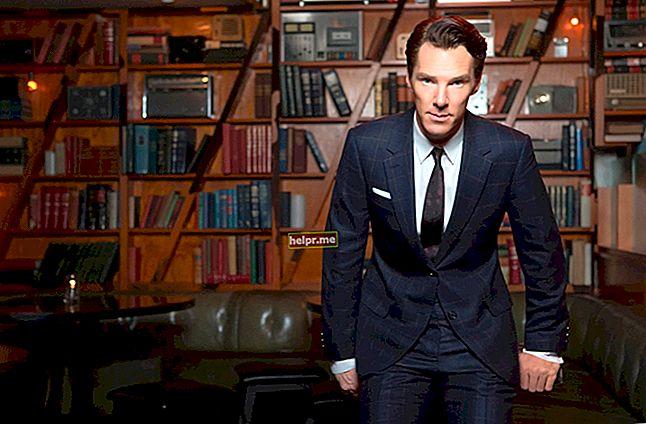Benedict Cumberbatch Înălțime, greutate, vârstă, statistici corporale