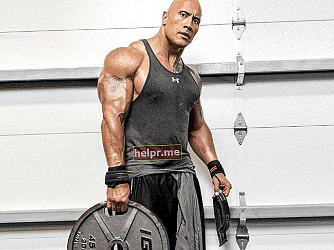 Dwayne Johnson Înălțime, greutate, vârstă, statistici corporale