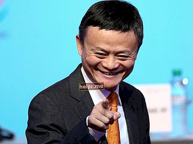 Jack Ma Visina, težina, dob, statistika tijela