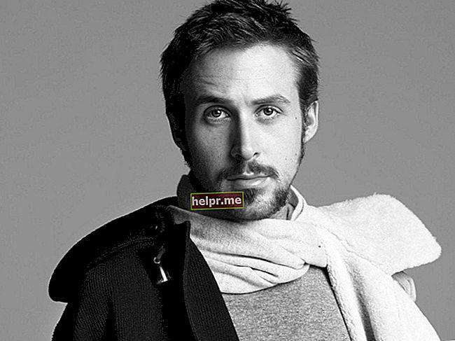 Ryan Gosling Înălțime, greutate, vârstă, statistici corporale