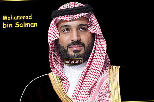Mohammad bin Salman Längd, vikt, ålder, kroppsstatistik
