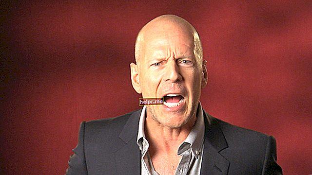 Bruce Willis Înălțime, greutate, vârstă, statistici corporale