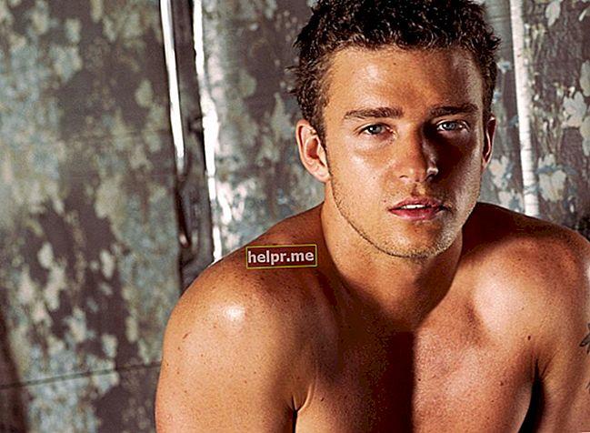Justin Timberlake Înălțime, greutate, vârstă, statistici corporale