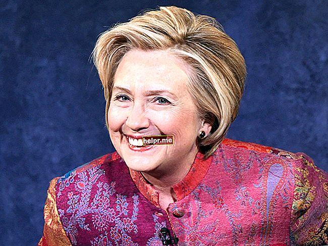 Hillary Clinton Înălțime, greutate, vârstă, statistici corporale