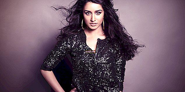 Shraddha Kapoor Înălțime, greutate, vârstă, statistici corporale