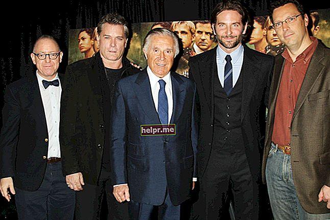 Bradley Cooper Înălțime, greutate, vârstă, statistici corporale