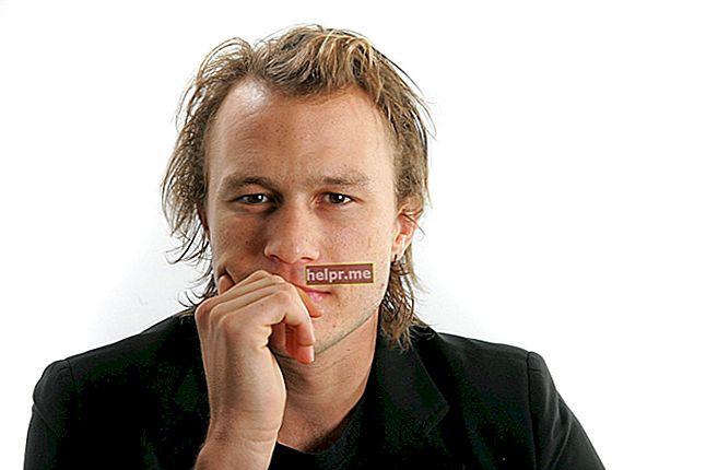 Heath Ledger Înălțime, greutate, vârstă, statistici corporale