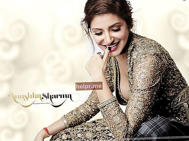 Anushka Sharma Înălțime, greutate, vârstă, statistici corporale