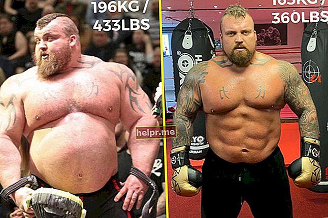 Strongman Brian Shaw Înălțime, greutate, vârstă, statistici corporale
