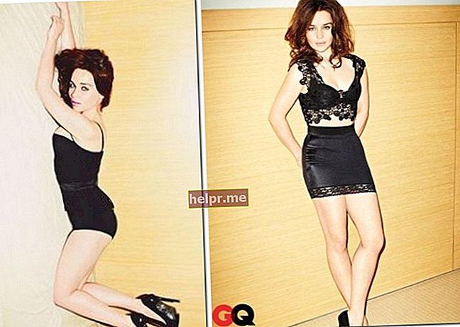 Emilia Clarke Înălțime, greutate, vârstă, statistici corporale