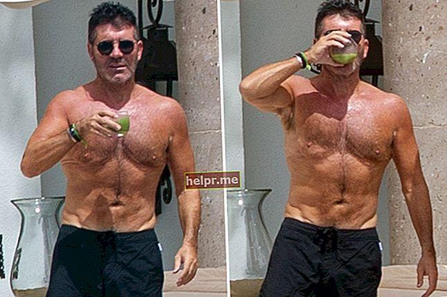 Simon Cowell Înălțime, greutate, vârstă, statistici corporale