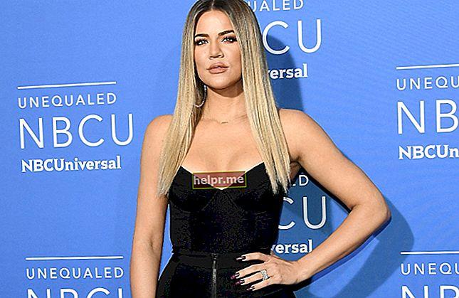 Khloe Kardashian Înălțime, greutate, vârstă, statistici corporale