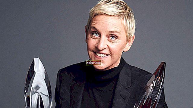 Ellen DeGeneres Înălțime, greutate, vârstă, statistici corporale
