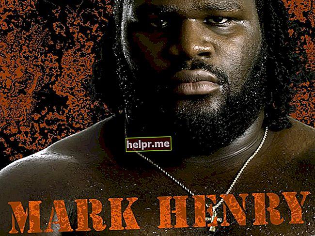 Mark Henry Înălțime, greutate, vârstă, statistici corporale