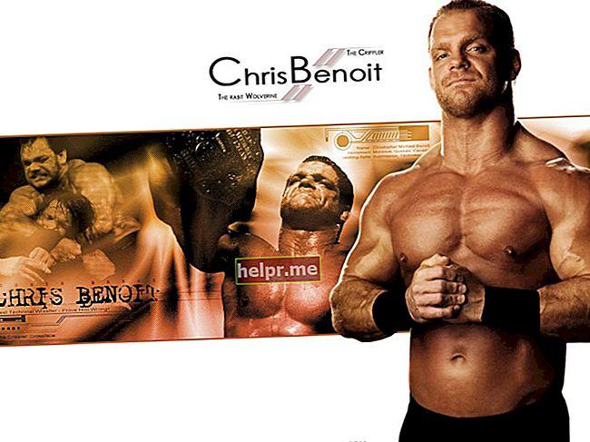 Chris Benoit Înălțime, greutate, vârstă, statistici corporale