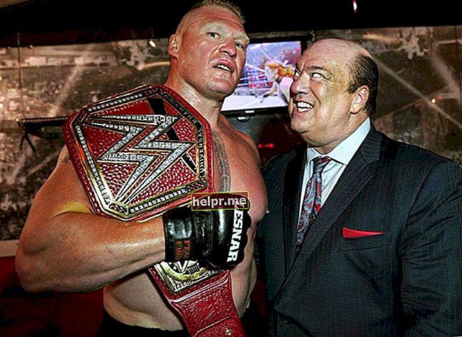 Brock Lesnar Înălțime, greutate, vârstă, statistici corporale